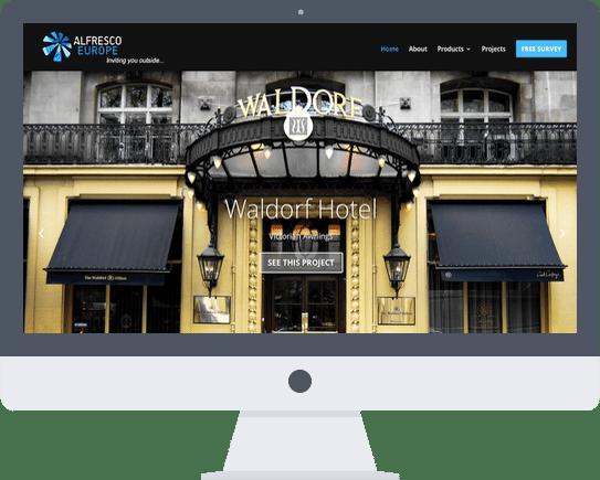 Website Design London Alfresco Solutions