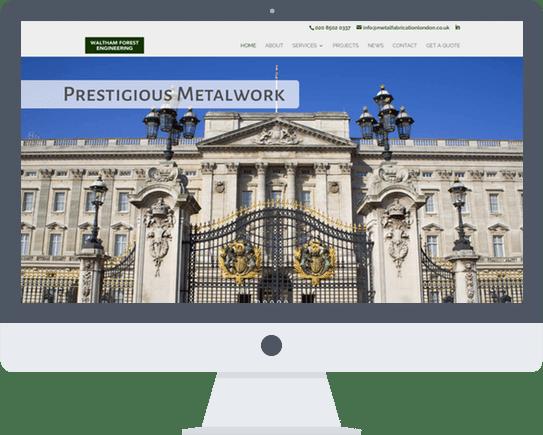 Website Design Essex Waltham Forest Engineering